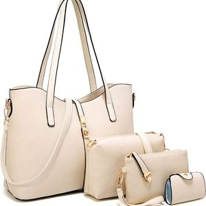 🆕️ 4 Pcs Bundle Tote Satchel Shoulder Bags